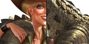 Croc details by Loopydave