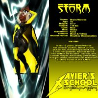 Storm - Xavier's School EX by Sailmaster-Seion