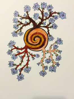 Spiral Roots Design  by Surdy12321