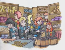 HP - Honeydukes by xaykocys