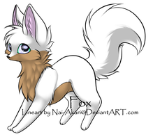 Point adoptable Foxie Kit -CLOSED- by AixaRawr