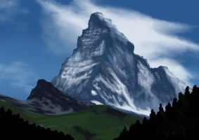 Mountain by claralimpk