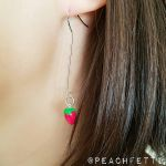 Strawberry Drop Earrings by XXSaturnNinjaSGXX