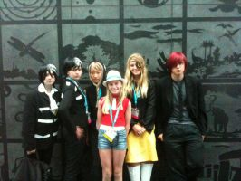 Anime Expo 2012 Us and Spirit by Fainting-Ostrich