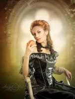 Lady-with-an-apple by AngeliaArt