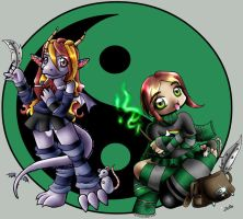 Verity and MiSTEH by zenia