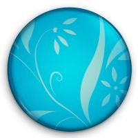 Glossy Patterned Button by Retoucher07030