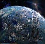 CG Blue Planet by bdbros
