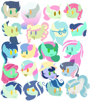 20 LyraBon's by iPandacakes
