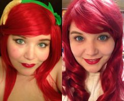 Ariel comparison by Labyrinthinwyrm