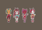 Monster Kids Batch 2 [closed] by xephia