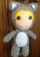 Cat Girl Amigurumi by CataCata23