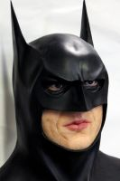 Michael Keaton as Batman latest version by XtcofPain