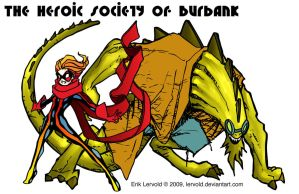 The Heroic Society Of Burbank by lervold