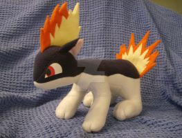 Quilava Plush by xxtemporaryinsanity