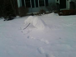 The worlds BEST Snowman XD by Venomari19
