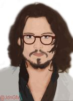 Johnny Depp - Fan Art by JdnGfx