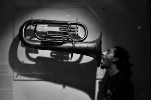 PLAYING THE TRUMPET LIKE A PRO by BlackRugiada