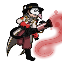 My cute as butts Medic by suicidal-zombie