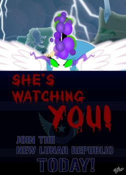 She Is Watching You by Blitz2600