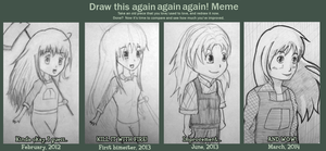 Draw this Again! (Claire) by Konamon