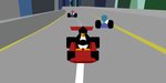 Super Tux Kart Abstract Art by qubodup