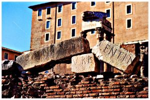 Broken Ruins of Rome by seafaringgypsy