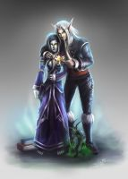 Undead and Belf love by iidxgirl
