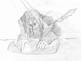 Young Snape by infiniteviking