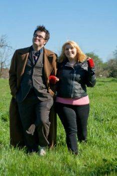 The Doctor and Rose Tyler by Terrific-Tampax
