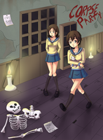 Cry Plays: Corpse Party by YeojaButa