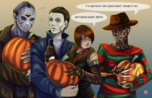 5 Days of Halloween 2014 - Happy Halloween! by TyrineCarver