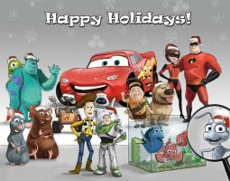 A Pixar Holidays by ASmootherPebble