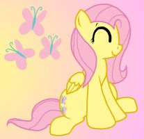 Fluttershy - speedpaint by cobalt-bow