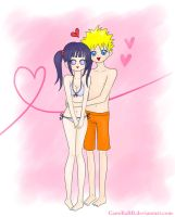 NaruHina Summer by CamillaBB