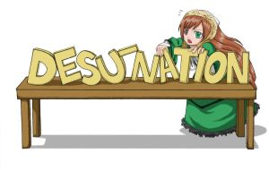 Desu-Nation Suiseiseki by vivid-cacophony