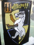 Hufflepuff window by Shadowind