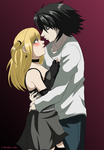 Death Note: Hold Her Close by itanatsu-chan