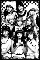 SNSD Hoot Wallpaper remake by coloursoftherainbow7