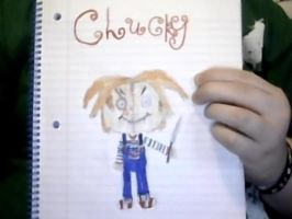 Chucky drawing by Smurfette123