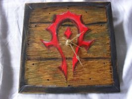 Horde Clock by utenafangirl