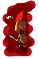 The Gods - Ares by OttoArantes