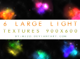 6 Large light textures. by Mjzo