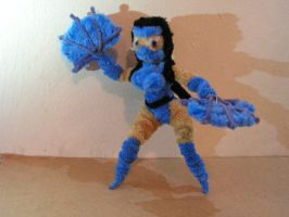 Kitana by fuzzyfigureguy