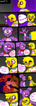 Bonnie x Chica comic part 1 by Captaiin-Flora