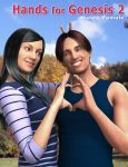 Hands for Genesis 2 Male and Female by ratorama