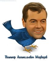 Twitter Anatolievich Medvedev by TovMauzer