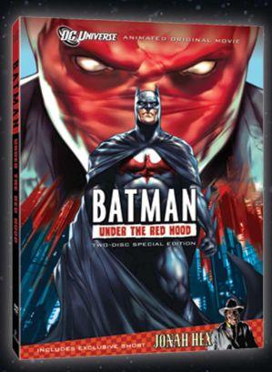Batman Red Hood DVD