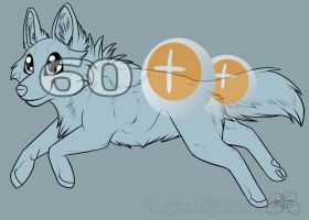 .: Chibi Canine Lineart :. by SillyTheWolf