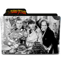 The Three Stooges Folder Icon by SharatJ
